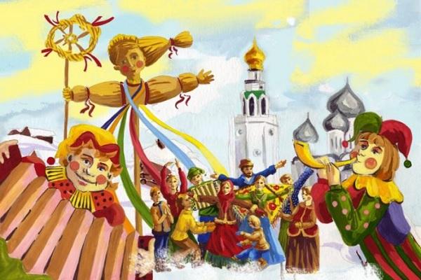 Масленица   руска Прочка во сабота во градот на Свети Никола