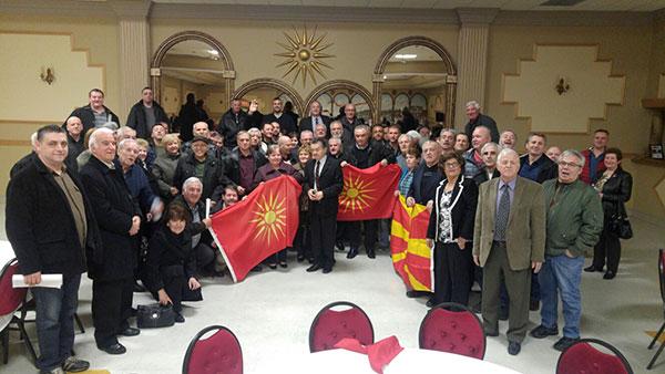 Подршка на иницијативата  За заедничка Македонија  од Виндзор  Канада