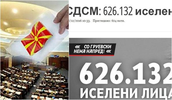 Гласачите од дијаспората ја разобличија лагата на СДСМ